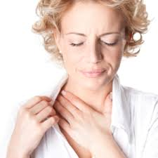 asthma neck pain